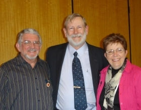 Roy Hunter at the NZ Hypnotherapy Conference
