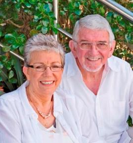 Sue Wood & Roger Saxelby of Alpha Hypnotherapy