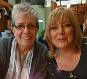 Sue with Sheila Granger - developer of the VGB programme
